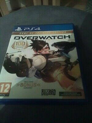 AU15.54 • Buy Overwatch Game Of The Year Edition Ps4