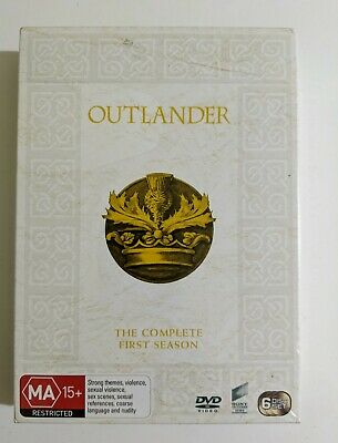 AU32.99 • Buy OUTLANDER DVD The Complete First Season R4 PAL Box Set NEW & Sealed