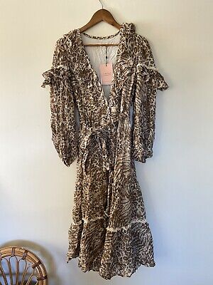 AU150 • Buy Spell And The Gypsy Ada Gown Leopard Small
