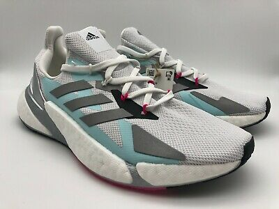 AU151.62 • Buy Women's Adidas X9000L4 BOOST Running Shoes Crystal White/Silver FW8405 Size 9.5