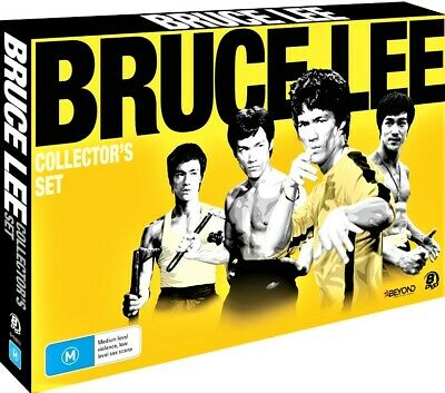 £40.97 • Buy BRUCE LEE Collector's Set 8-DVDs TRADITIONAL MARTIAL ARTS GIFT BOX RARE NEW R4