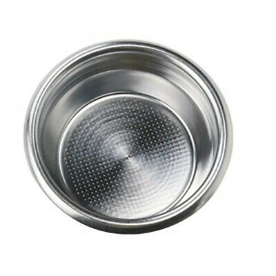 £8 • Buy Portafilter+Durable Double Silver 1 * 2 Cup New  For Breville Filter Basket 58mm