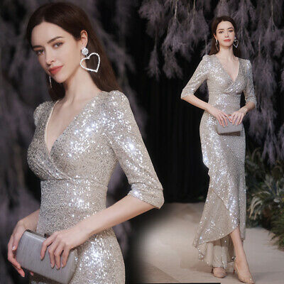 £55.18 • Buy Noble Evening Formal Party Ball Gown Prom Bridesmaid Host Sexy Dress TSJY18887
