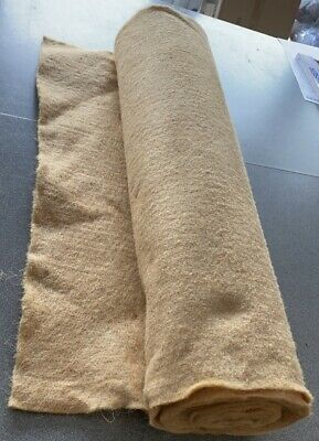 £7.99 • Buy Brown Jute Liner 1m X 0.75m  Ideal For Lining Hanging Baskets & Tubs