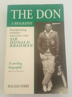 AU8.97 • Buy The Don A Biography Of Sir Donald Bradman By Roland Perry
