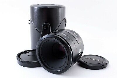 AU127.94 • Buy Minolta AF Macro 50mm F2.8 With Case Sony A Mount Prime Lens From Japan 859892