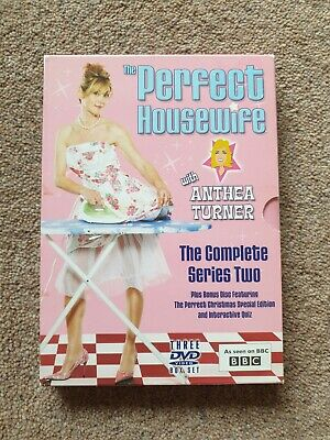 £11.99 • Buy THE PERFECT HOUSEWIFE With Anthea Turner Complete Series 2 DVD