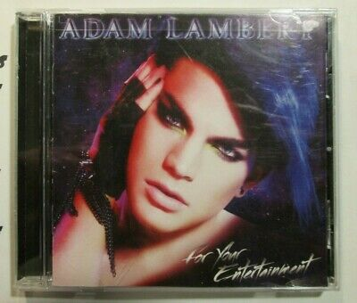 AU9.36 • Buy Adam Lambert For Your Entertainment CD Disc Complete Audio Music Ships Same Day
