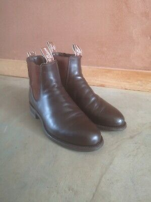 AU280 • Buy RM Williams Mens Leather Chestnut Comfort Boots 9G