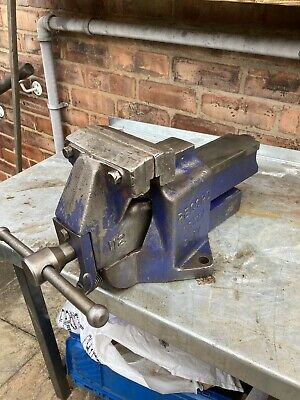 £150 • Buy Record No112 QUICK RELEASE HEAVY DUTY BENCH VICE 6  ENGINEERS / FITTERS