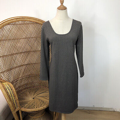 AU35 • Buy The Ark Clothing Co Dress Size XL Made In Australia  Print Long Sleeve