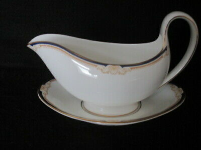 £24.50 • Buy Wedgwood 'cavendish' Patt. R4680 Gravy / Sauce Boat With Stand - 1st Quality