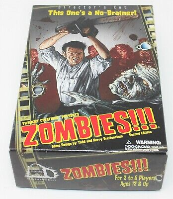 £12.95 • Buy Twilight Creations Zombies!! The GAME (Director's Cut) 2006 2nd Edition