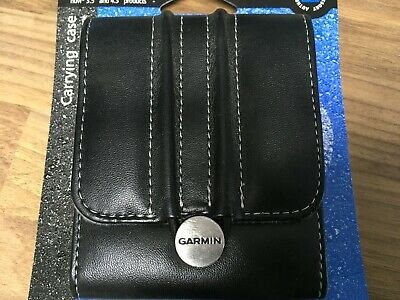 £5.99 • Buy Garmin Carry Case For Nuvi 3.5 Inch And 4.3 Inch Products Leather Adjustable