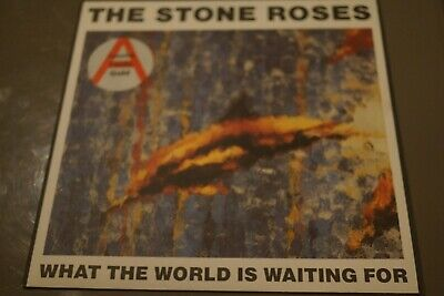 £19.99 • Buy The Stone Roses What The World Is Waiting For / Fool's Gold Silvertone Ore 13