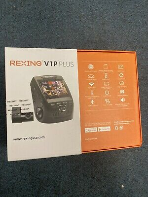 AU200.28 • Buy Rexing - V1P Pro Plus Front And Rear Dash Cam With Built-in GPS And Wi-Fi Con...