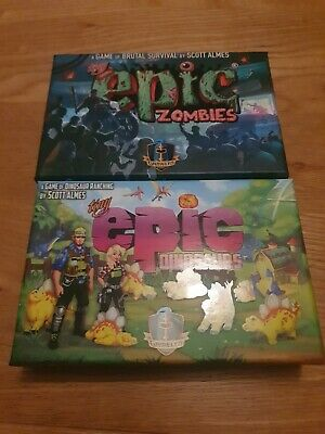 £47.99 • Buy Tiny Epic Zombies - Deluxe Edition - Opened Never Used - Contents Sealed.