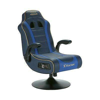 £239 • Buy X Rocker Adrenaline V.II 2.1 Gaming Chair PS4, Xbox One Or Switch - Black/Blue