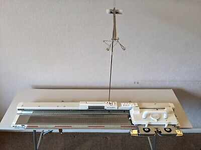 £749 • Buy Silver Reed SK280 Standard Punch Card Knitting Machine & SRP60N Ribber & Table