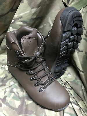 £39.95 • Buy Genuine British Issue Brown Iturri Patrol Boots!worn Once! Immaculate!Size 6 L