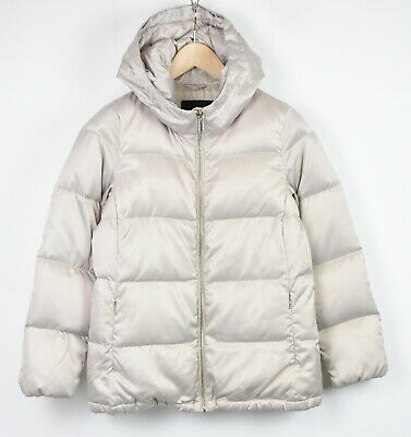 AU12.05 • Buy MASSIMO DUTTI 6747 Women's X SMALL Down Filled Hooded Puffer Jacket 43246-GS