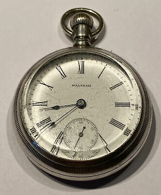 £61.63 • Buy Antique Waltham Pocket Watch Sterling Open Face