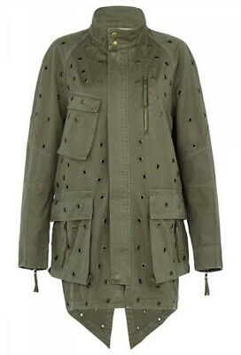 AU99 • Buy Sass And Bide Oversized Military Jacket - Stunning Unique Sz 12 Or 42 Fit 16 L