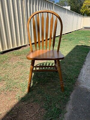 AU500 • Buy 8 Dining Chairs, Solid Timber, Very Comfortable, Classic Country Style