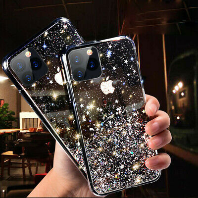 AU7.99 • Buy GLITTER Case For IPhone 13 12 Pro 11 Pro Max X XS 8 7 Shockproof Clear Gel Cover