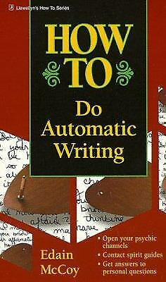 £4.36 • Buy How To Do Automatic Writing Paperback Edain McCoy