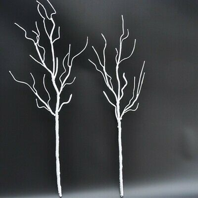 £8.78 • Buy Artificial Branch Fake Tree Branches Dried White Plants Wedding Home Party Decor