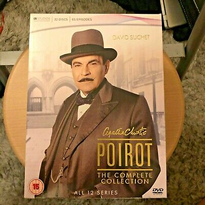 £50 • Buy Agatha Christie's Poirot - Complete Collection (DVD, 2011, 32-Disc Set, Box Set)