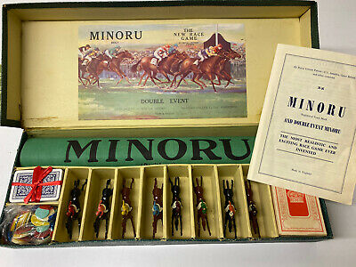 £99 • Buy Rare Antique Minoru Horse Racing Game By Jaques London