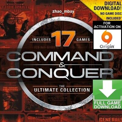 AU13.04 • Buy Command And Conquer The Ultimate Collection PC ORIGIN KEY GLOBAL FAST DELIVERY!