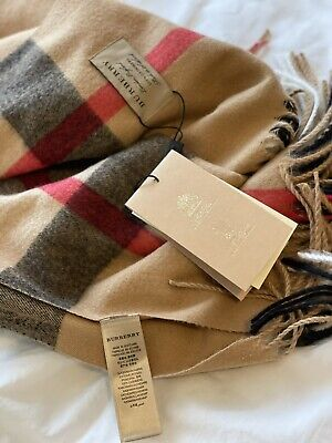 £360 • Buy Burberry Scarf Cashmere