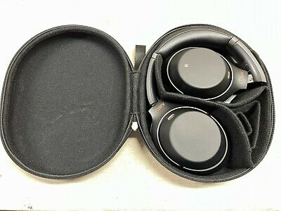 AU151.53 • Buy Sony WH-1000XM3 Over The Ear Noise Cancelling Wireless Headphones Black W/Case
