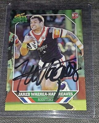 AU3.99 • Buy Signed 2011 Jared Waerea-Hargreaves SYDNEY ROOSTERS NRL Card MINT Condition