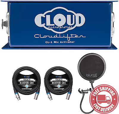 AU321.79 • Buy Cloud Microphones CL-1 Cloudlifter 1 Channel Mic Activator For Dynamic/Ribbon/Tu