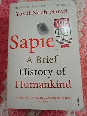 AU8 • Buy Sapiens A Brief History Of Humankind By Yuval Noah Harari Paperback Book
