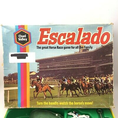 £6.99 • Buy Escalado The Great Horse Racing Board Game For All The Family 29031 CP