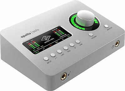 AU741.63 • Buy Universal Audio Apollo Solo USB Analog 2 IN 4 Out Audio Interface For Windows