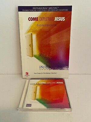 £15.97 • Buy Hosanna Songbook And Music CD Set Praise Worship Come Expect Jesus