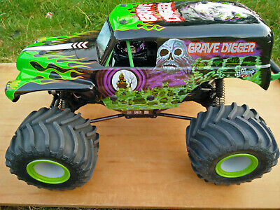 £550 • Buy Updated Losi LMT Grave Digger 4WD RTR Monster Truck RC Radio Controlled