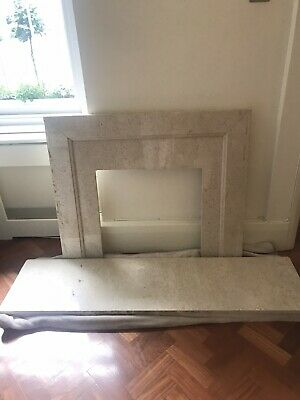 £80 • Buy Marble Fire Back Panel/Slip And Hearth