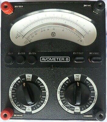£21 • Buy AVOMETER Model 8 MK V With Test Leads & In A Really Clean Good Working Condition
