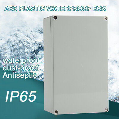 £7.98 • Buy Waterproof Junction Box ABS Plastic Electrical Boxes Case Project Enclosure DIY