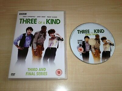 £39.99 • Buy Three Of A Kind Complete 3rd Third Season Series 3 Dvd Lenny Henry Bbc Tv Comedy