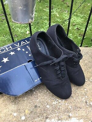 £8 • Buy Roch Valley Tap Dancing Lace Up  Shoes Black Size 6 / 39