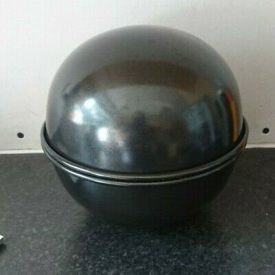 £15 • Buy 3D Ball Shaped Heavy Duty Baking Cake Pudding Tin X 2 Professional Quality