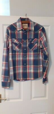 £3.49 • Buy Hollister Checked Shirt Size S